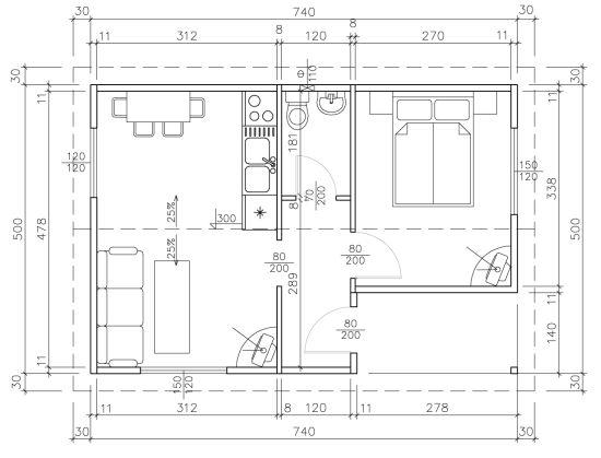 Схема на Класик 37B