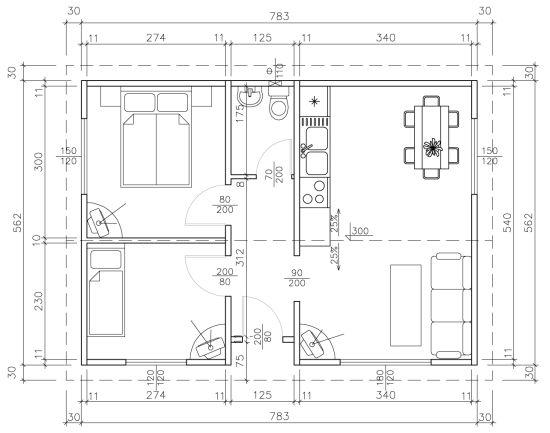 Схема на Класик 44
