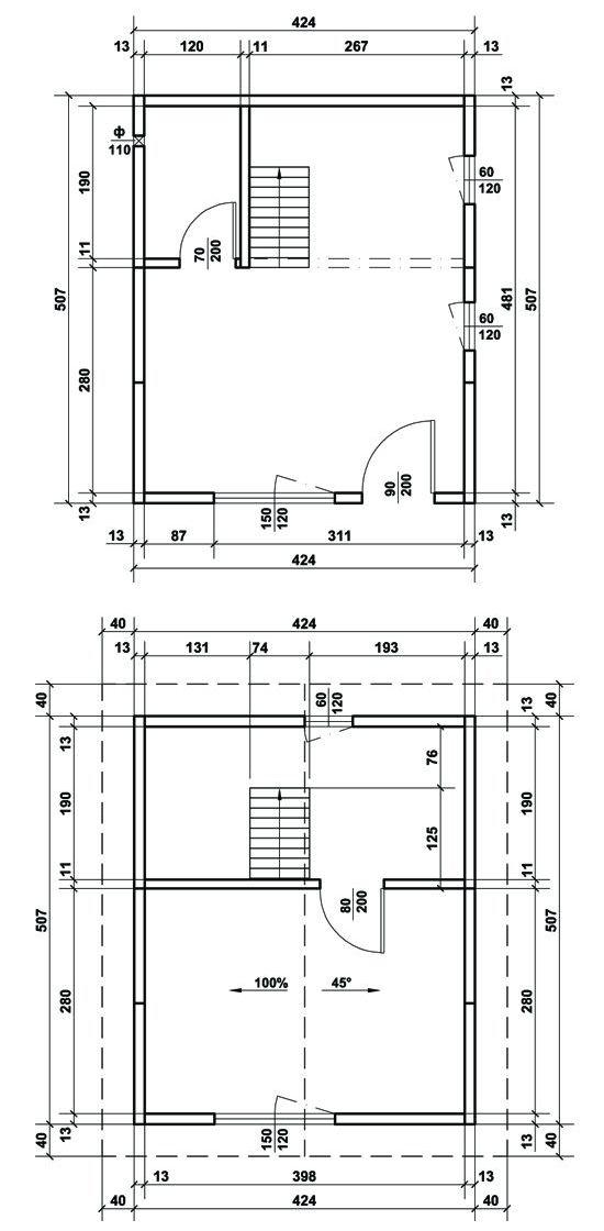 Схема на Дом Хоби 43