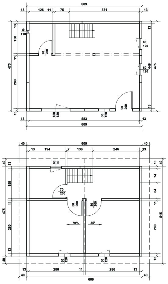 Схема на Дом Хоби 58