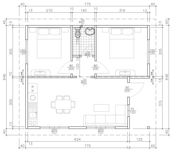 Схема на Стандарт 50B