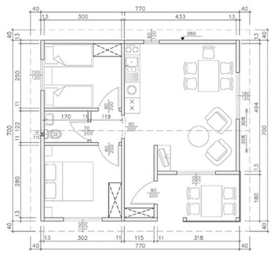 Схема на Стандарт 54B